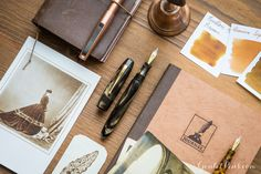 Like an old photograph, fountain pens can remind us of simpler times passed. This week's Thursday Things: Sepia embraces the nostalgia! Pin for later.