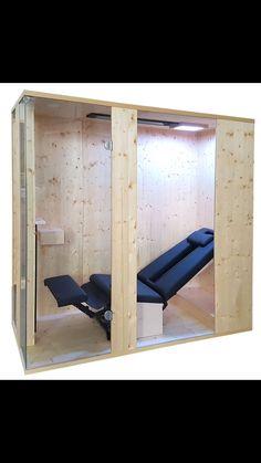 Marvelous Liegekabine mit Deckenstrahler Infrarotstrahler Infrarotmed sind auch zum nachtr glichen Einbau in die Sauna geeignet