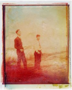 old family photo printed using a color shot pola printer on spectra film and sandwiched on top of 690 film - not digital layers View On White Texture Photography, Old Photography, Multiple Exposure, Double Exposure, Old Family Photos, Old Photos, Winter's Tale, Black And White Photography, Impossible Project