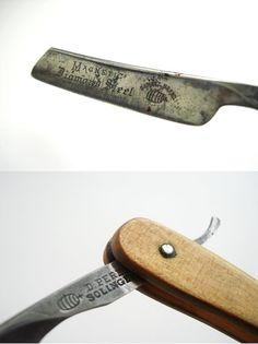 Vintage Daniel Peres Razor, Solingen, Barrel Brand, Straight Razor, Magnetic Diamond Steel, Full Hollow Ground, German blade