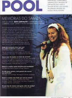 #BethCarvalho 2008 Jornal do Brasil