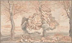 Anonymous, French, 18th century Copy after Sébastien Leclerc I (French, 1637–1714). Allegory of Winter, after Sébastien Le Clerc, 18th century. The Metropolitan Museum of Art, New York. Rogers Fund, 1963 (63.223.1)