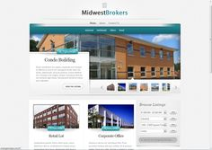 Midwest Brokers Website Condo, Industrial, Website, Building, Home, Buildings, Ad Home, Homes, House
