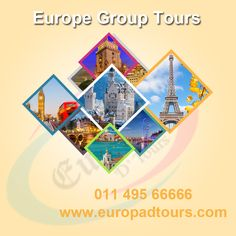 Europe Group Tours by www.europadtours.com