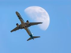 Air Dolomiti and the Moon