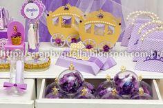 Resultado de imagem para princesa sofia festa lembrancinha