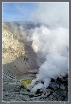 Crater of the Bromo - Bromo, Jawa Timur Indonesia by Vincent Bournazel