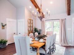 Fixer Upper   Dining Room   Farmhouse Style   Rustic   HGTV