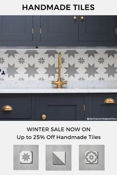 Our Winter Sale is now on - with up to 25% off Kitchen Tiles