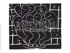 Basket of Begonias Collectable Print by Henri Matisse at Art.com
