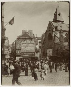Le Paris de 1900 par Atget Atget Paris Place Saint Medard1 612x750