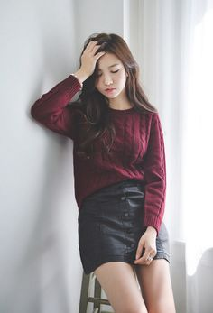 All Korean Fashion items Up to ºº♡ Emma Jane ♡ºº Korean Girl Fashion, Korean Street Fashion, Ulzzang Fashion, Korea Fashion, Asian Fashion, Daily Fashion, Fashion Beauty, Fashion Looks, Cute Sporty Outfits