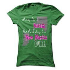 New Mexico Girl in Nevada World T Shirts, Hoodies Sweatshirts. Check price ==► http://store.customtshirts.xyz/go.php?u=https://www.sunfrog.com/States/New-Mexico-Girl-in-Nevada-World-ladies.html?41382