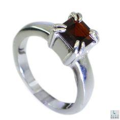 Garnet-925-Silver-Jewellery-Cocktail-Ring-Jewelry-Sz-7-5-Srgar7-5-26096