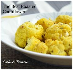 This flu season, give your veggies a pop of color and your body an anti-inflammatory boost! This tasty Turmeric Roasted Cauliflower will do the trick!