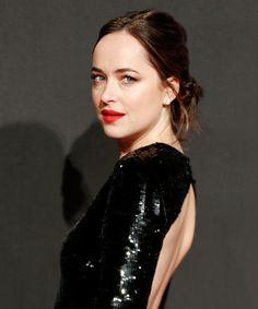Dakota Johnson Embodies Fifty Shades Darker at the Movie's European Premiere from InStyle.com