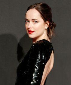 Dakota Johnson Embodies Fifty Shades Darker at the Movie's European Premiere from InStyle.com