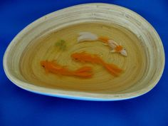 """""""3 Amigos"""" handpainted on layers of resin. No real fish! www.soreal-art.com 3d Resin Painting, Layers, Hand Painted, Fish, Artwork, 3 Friends, Layering, Work Of Art, Auguste Rodin Artwork"""