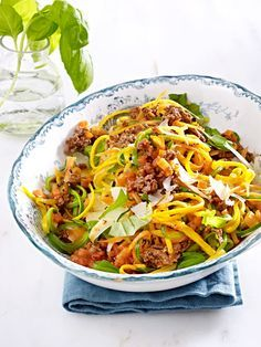 Low Carb-Pasta