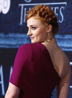 Sophie Turner attends the premiere of HBO's 'Game Of Thrones' Season 6 at TCL Chinese Theatre on April 10, 2016 in Hollywood, California.