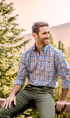 Revamp your fall wardrobe with the Juban Check Dress Shirt! #southernmarsh #somarsh