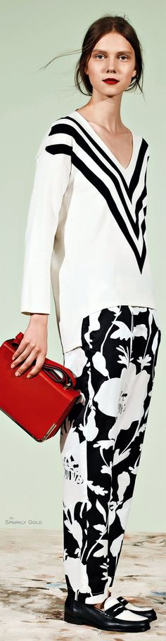 Liviana Conti Resort 2016 women fashion outfit clothing style apparel @roressclothes closet ideas