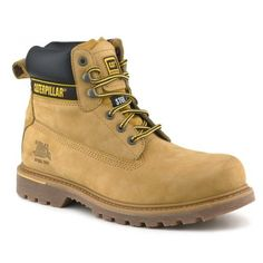 Caterpillar Men's Holton Safety Boots Check more at https://www.safetygearhq.com/product/personal-safety/safety-shoes/caterpillar-mens-holton-safety-boots/