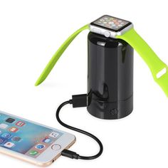 Upow 4000mAh 2-in-1 Apple Watch Charging Station and Universal Power Bank ** You can get more details here(This is an affiliate link and I receive a commission for the sales) : Travel Gadgets