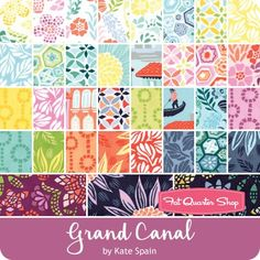 Grand Canal Fat Quarter Bundle Reservation <br/>Kate Spain for Moda Fabrics