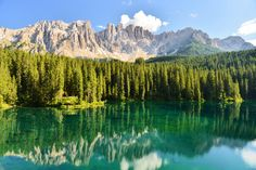 Karersee (Lago di Carezza), is a lake in the Dolomites in South Tyrol (Alto Adige), Italy.