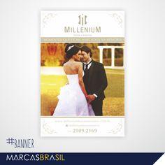 Banner – Millenium Festa & Eventos > Desenvolvimento de banner para a Millenium festas & eventos < #banner #marcasbrasil #agenciamkt #publicidadeamericana