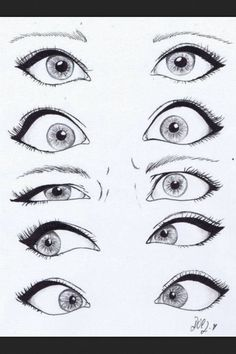 Disney Cartoon Eyes #drawing