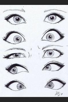 Disney Cartoon Eyes #drawing