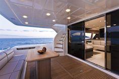 External view Ferretti Yachts - Ferretti 750 #yacht #luxury #ferretti