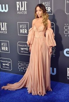 At the Critics Choice Awards Critic Choice Awards, Critics Choice, Chloe Bennet, Valley Girls, Bridesmaid Dresses, Wedding Dresses, Celebrity Crush, Nice Tops, Actresses