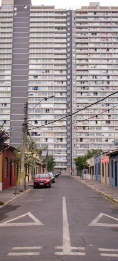 Santiago Hongkoniano Garage Doors, Sidewalk, Outdoor Decor, Photography, Home Decor, Street, Santiago, Places, Photograph