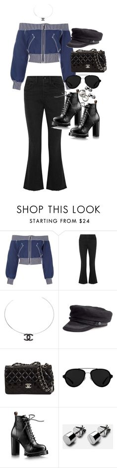 """Untitled #3348"" by angieswardrobe ❤ liked on Polyvore featuring Jean-Paul Gaultier, Helmut Lang, Chanel and 3.1 Phillip Lim"