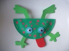 Paper Plate Crafts 130885932908007306 - Source by Paper Plate Crafts For Kids, Easy Crafts For Kids, Summer Crafts, Cute Crafts, Crafts For Girls, Art For Kids, Arts And Crafts, Paper Crafts, Frog Crafts