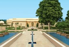 Oberoi Sukhvilās Resort & Spa just outside the northern Indian city of Chandigarh