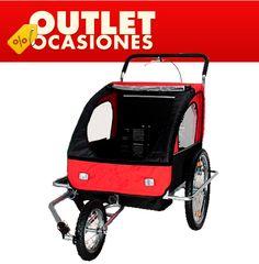 Echa un vistazo a este producto en yohago.com:  Remolque para bicicleta rojo