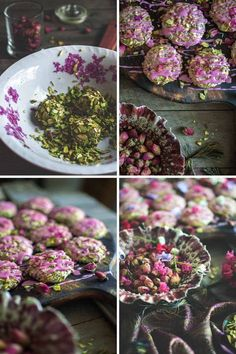 You've heard of Persian love cake, but have you tried Persian love cookies? These little things are almost to beautiful to eat! Arabic Sweets, Arabic Food, Arabic Dessert, Ramadan Sweets, Persian Desserts, Persian Recipes, Just Desserts, Dessert Recipes, Cake Recipes