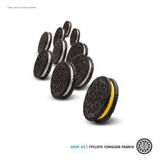 To the victor goes the OREO!