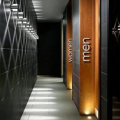 Ideas For Bathroom Design Commercial Wayfinding Signage, Signage Design, Cafe Design, Signage Board, Hotel Signage, Restaurant Signage, Office Signage, Gym Design, Restaurant Ideas
