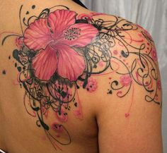 18 Shoulder Tattoos For Women http://tiredofthestruggle.weebly.com/