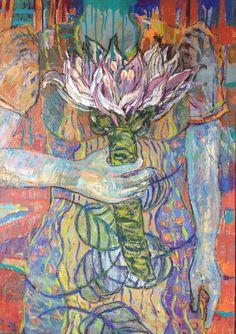 """Congratulations"" oil on canvas, Maarit Björkman-Väliahdet Oil On Canvas, Congratulations, My Arts, Artist, Painting, Painted Canvas, Painting Art, Paintings, Amen"