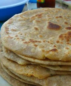 Recipe for Cauliflower Tortillas - Paleo - Grain Free - Gluten Free - This is an excellent way to get your veggies in and have a nice soft and warm tortilla at the same time.