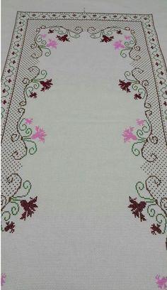 Cross Stitch Heart, Cross Stitch Borders, Cross Stitch Designs, Cross Stitching, Cross Stitch Embroidery, Embroidery Patterns Free, Easy Crochet Patterns, Machine Embroidery, Embroidery Designs