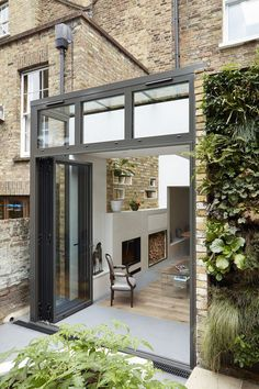 Our clients approached us soon after purchasing their house in order to design a rear extension and re-design the lower ground and ground storeys. The main issue which was disturbing our clients was the house's narrow floor plan, only wide . Georgian Townhouse, Georgian Homes, Modern Tiny House, Modern Mansion, Georgian Architecture, Interior Architecture, House Extension Design, House Design, Modern Georgian