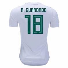 2018 Mexico Guardado World Cup Away Jersey  L921  Mexico Soccer Jersey fee71991c
