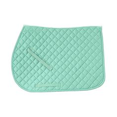 Rider's International Quilted Cotton Saddle Pad ($20) via Polyvore featuring saddle pads